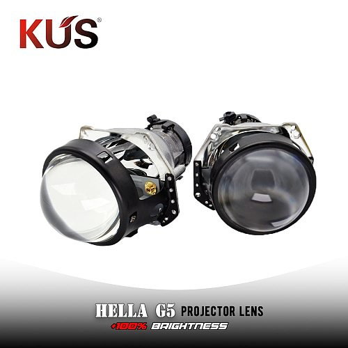 3.0 HID Bi-xenon Projector Lens Hella 3R G5 HD BLUE Headlight Lenses Replace Car Lights Accessories Retrofit D1S D2S 5000k Xenon