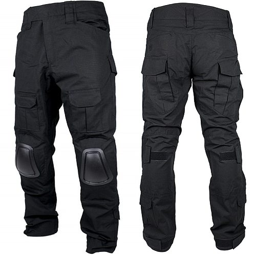 Gen2 Combat Pants Tactical Pants With Knee Pads Military Army Cargo Black Men Airsoft BDU Pants Battlefield Hunting Trousers