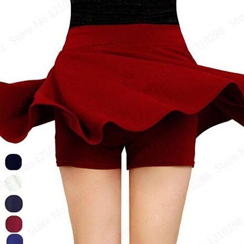 Sports Tennis Yoga Skorts Fitness Short Skirt Badminton Breathable Quick drying Women Sport Anti Exposure Tennis Skirt