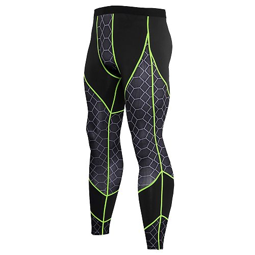 Quick Dry Sports Compression Pants Men Fitness Tights Yoga Pants Exercise Long Trousers Gym Running Pants Skinny Leggins Hombre