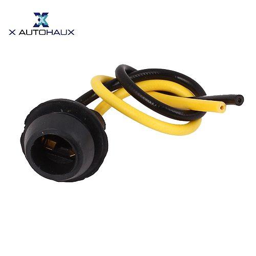 X Autohaux 10 Pcs T10 Wedge Base Light Bulb Lamp Instrument Panel Dash Board Socket Plug