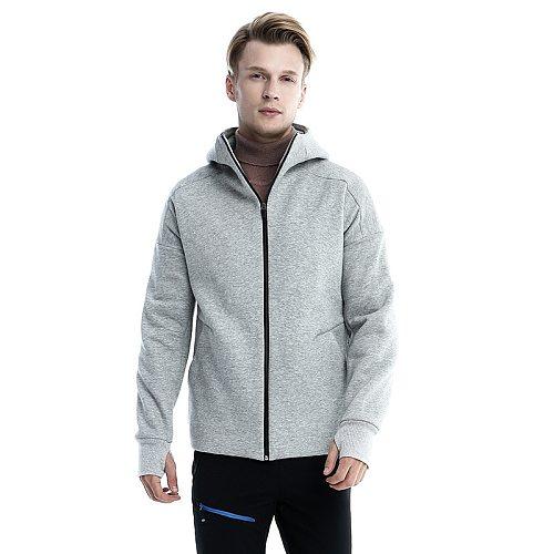 ZYNNEVA Intelligent  Electric Heated Jacket Charging Heating Thermal Jackets Winter Men Hoodie Zipper Hoodie Outwear GC3105