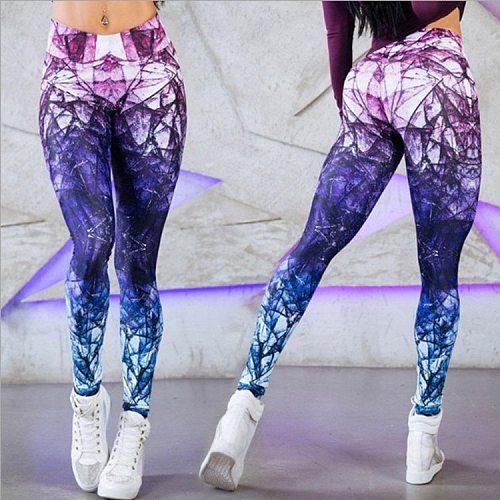 2019 Leggings sport women fitness Seamless Print leggings for Fitness Running Sports Slim Gym Legging Mujer Pants