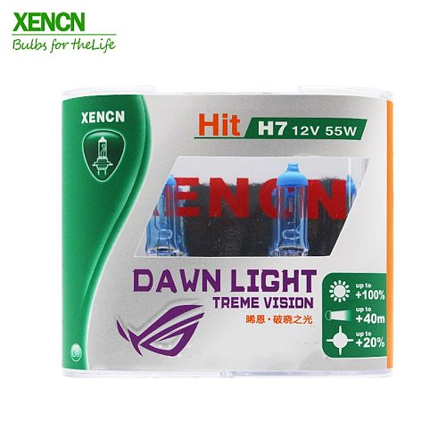 XENCN H7 12V 55W 3800K Super Bright White Second Generation Dawn Light Replace Upgrade Lamp Car Bulbs for kia BMW AUDI TOYOTA