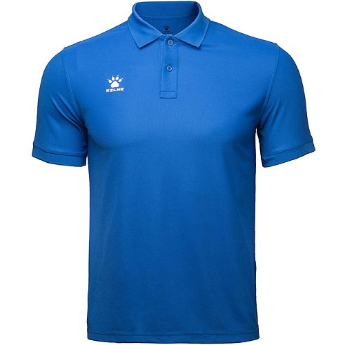 KELME Men's Training Polo T-Shirt  Summer Running Cotton Shirts Casual Short Sleeve Tops High Quantity Polo For Men 3881017