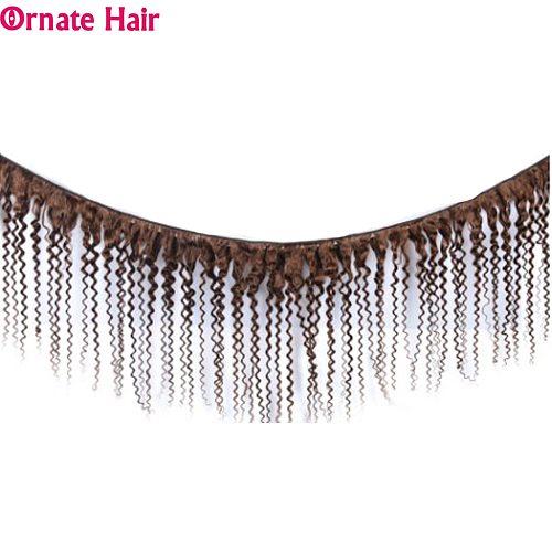 Short Brazilian Deep Wave Bundles Human Hair Weave Bundles Non-Remy Pre-Colored 3/4pcs/Lot Ornate Hair 10 Inch