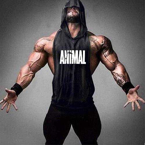 2020 new men's shirt compression vest adult gym vest fitness sleeveless T-shirt sportswear running vest jogging suit