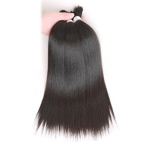 Rebecca Human Braiding Hair Bulk Remy Peruvian Straight Hair Bulk No Weft Hair Bundles 10 To 30 Inch 100% Human Hair