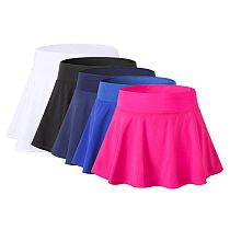 Sports Tennis yoga Fitness Short Skirt Badminton breathable Women  running gym Double layer Anti-Exposure ladies sports skirts