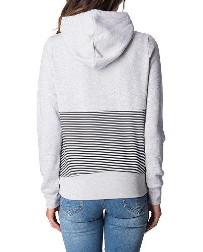 RC Fleece Fifty Fifty Stripe Hoody