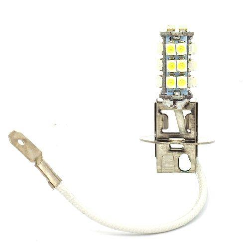 1 Pcs H3 pk22s 26 SMD Car Led White Lights Fog Lamp Bulb for DC 12V