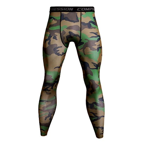 Mens Gym Compression Pants Running Leggings Sport Training Yoga Bottoms Tights Trousers Men Sportswear Quick Dry Jogging Pants