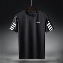Men's Fitness Gym Training Sportswear Workout Shirt Athletic Workout Shirt Running Jogging Sports Clothes Dry Fit Shirts