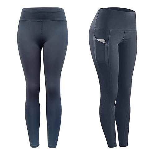 Sport Leggings Women Workout Out Pocket Leggings Fitness Sports Running Yoga Athletic Pants Calzas Mujer Trousers Yoga Штаны @40