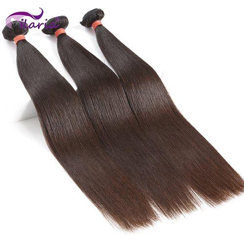 ILARIA 8A Mink Brazilian Virgin Hair 3 Bundles Straight Soft&Full 08 -36  100% Raw Human Hair Weave Bundles Shipping Free