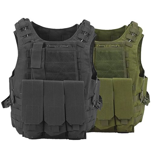 Tactical Gear Plate Carrier Vest Military Hunting Paintball Equipment Outdoor Airsoft Combat Body Armor Molle Assault CS Vests