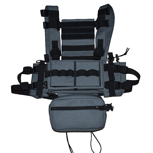 Wargame Lightweight Combat Horness MK3 Outdoor Hunting CS Chest Hanging Tactical Vest Multi-Colors.