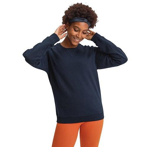 NWT Woman Outdoor Sport Long Sleeve Sweatshirts Yoga  Loose Fit Gym Fitness Athletic Running Trainning Sweatshirt