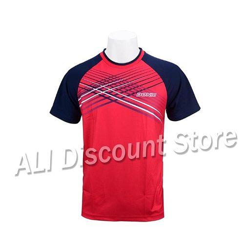 New arrival DONIC Table tennis clothes sportswear quick dry short sleeved men ping pong Shirt Badminton Sport Jerseys