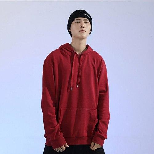 Hoodie Men 2020 Casual Solid Long Sleeve Mens Hoodies Sweatshirts Slim Hedging Hoody Sweatshirt Men Hooded Streetwear