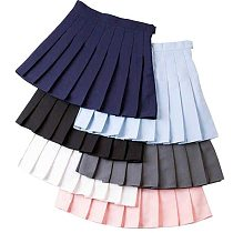 Girl Pleated Tennis Skirt High Waist Short Dress With Underpants Slim School Uniform Women Teen Cheerleader Badminton Skirts
