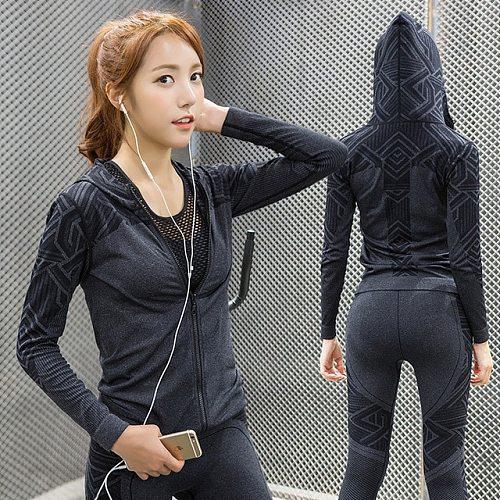 NWT 2020 Woman Outdoor Hoodies Yoga hoodie Sport Gym Fitness Athletic Running Trainning Sweatshirt With Hood