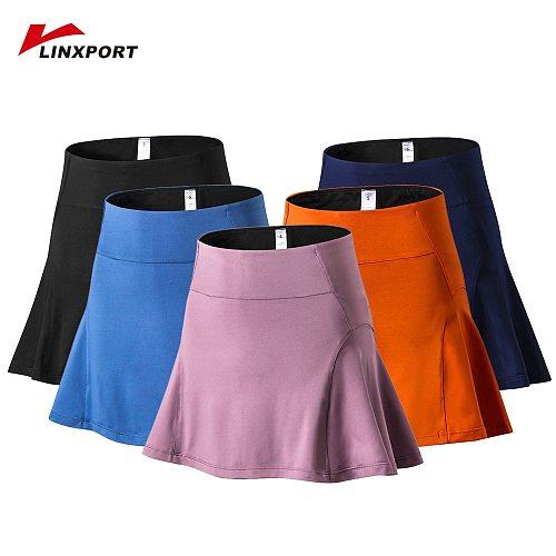 Women's Short Skirt with Pockets High Waist Shorts Skirt Shorts Underpants for Badminton Tennis Sports Uniform Girl Golf Wear