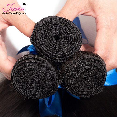 Jarin Hair 10-20-50 Bundles/lot Brazilian Straight Hair Weave Wholesale Price Human Hair Can Mix Any Length Remy 100g/bundle