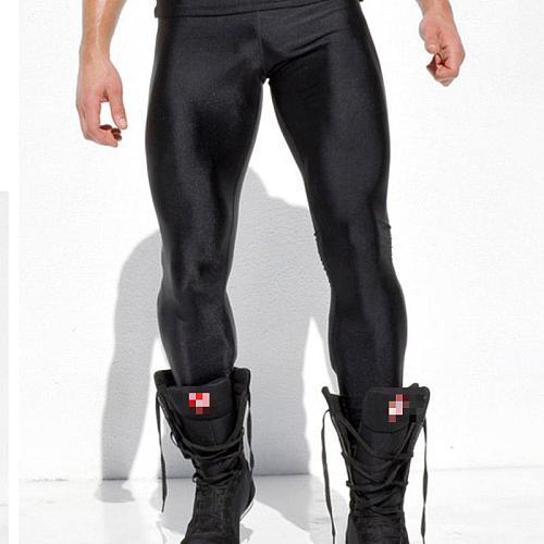 GANYANR Running Tights Men Compression Pants Basketball Yoga Sport Leggings Fitness Gym Athletic Long quick dry Jogging Training