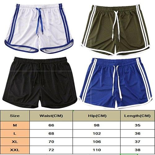 2020 Men Summer Running Shorts Sports Jogging Fitness Shorts Quick Dry Men Gym Men Fitness Soccer Sport Gyms Men's Short Bottoms