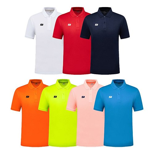 SANHENG Brand Summer Cheap Casual Short-Sleeved Polo Suit Personal Company Group LOGO Custom POLO Shirt Men And Women Custom