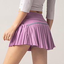 Cloud Hide Women Sports Tennis Skirts Golf Skirt Fitness Shorts High Waist Athletic Running Short Quick Dry Sport Skort Pocket
