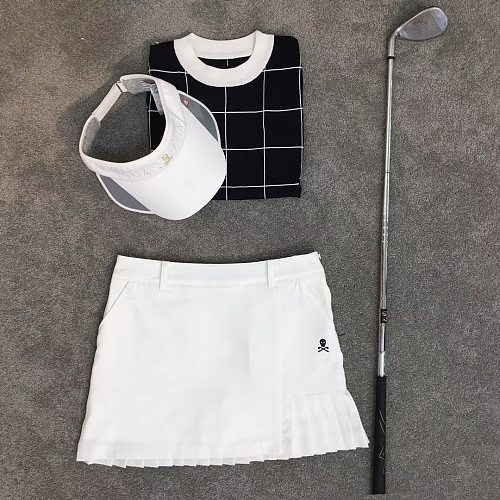 Women's Golf Skirt Sports Short For Ladies Autumn