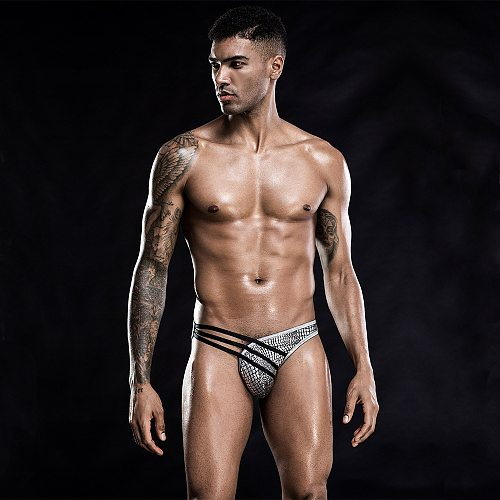2020 Role Play Mens Sexy Sports Briefs,Gay Bar Dance Perform T-back Costume