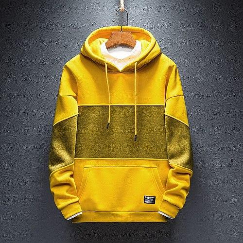Men's Unisex Couple Hoodie Sweatshirt Wool 100% Cotton Sportswear Sweatshirt 2020 Winter Casual Loose Pullover