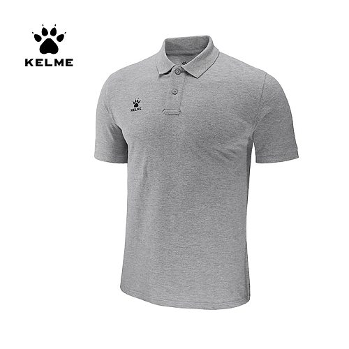 KELME Men's Training Polo T-Shirt  Summer Running Cotton Shirts Casual Short Sleeve Tops High Quantity Polo For Men 3881522