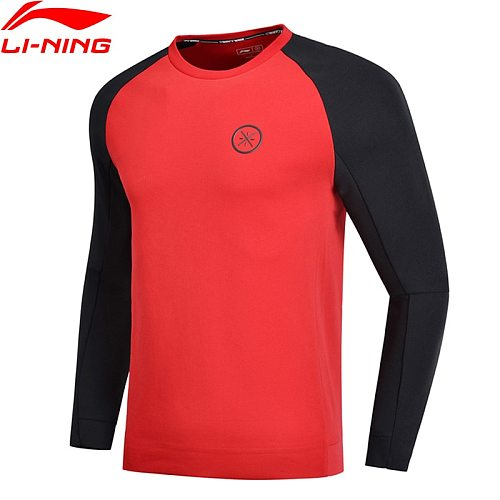 Li-Ning Men Wade Series Sweater 3D Fitting Regular Fit 66% Cotton 34% Polyester LiNing Comfort Sports Hoodie AWDN899 COND18