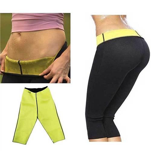 Women Slimming Fit Thermal Short Pants Ladies Neoprene Weight Skinny Slin Flexible Body Shaper Sporty Tranning  Gym Shorts