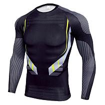 Long Sleeve Compression Shirt Men Quick Dry Gym T Shirt Fitness Sport Shirt Male Rashgard Gym Workout Traning Tights For Men