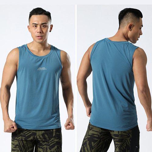 Basketball Tank Top Gym Men Running Tank Top Summer Men Quick Dry Running Vest Men Breathable Men Top Quick Dry Shirts Singlets