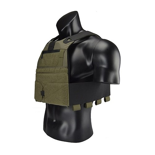 Delustering TwinFalcons FCSK 2.0 Low Profile Plate Carriers Ranger Green Airsoft CQB CQC Wargame Military Hunting Police TW-VT15
