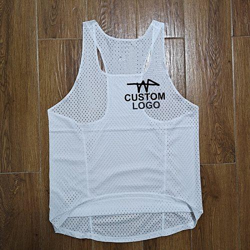 Marathon Record Break running Vest Street Running Shirt Custom Logo