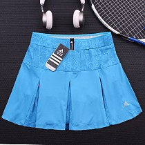 2020 New women tennis skirt pants women's badminton loose elastic lining anti-failure running sports fitness skirt sport shorts