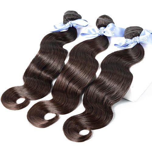 ILARIA 7A Malaysian Body Wave Virgin Hair 4 Bundles Unprocessed Human Hair Weave Bundles Natural Color Shipping Free