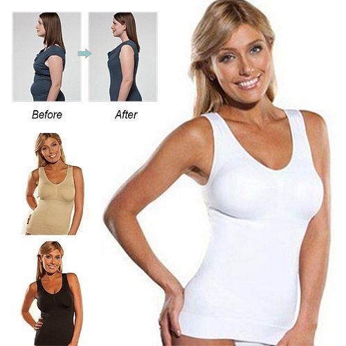 Women Slimming Tank Tops Woman Sportswear Workout Gym T-shirt Bodybuilding Fitness Tanks Sleeveless Tummy Control Sport Vest