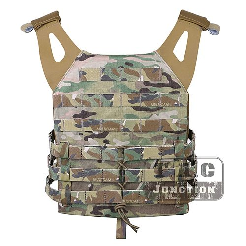 Emerson Tactical Vest JPC Vest EmersonGear Jumpable Plate Carrier with 2pcs Plate for Airsoft Combat Paintball