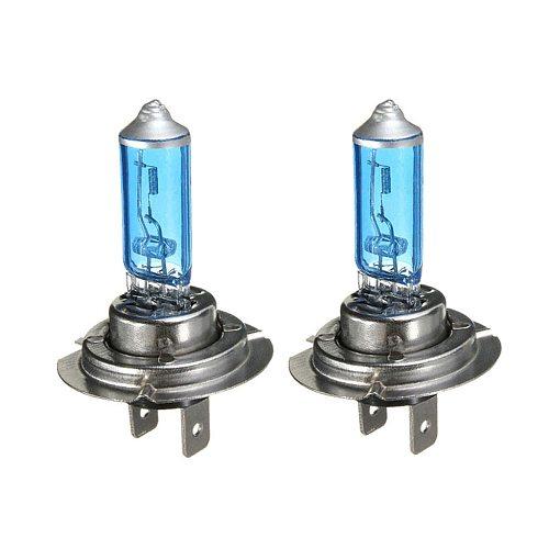 2PCS H7 55W/100W 12V 6000K Car Halogen Headlight Headlight Quartz Lamp White Light Car Light