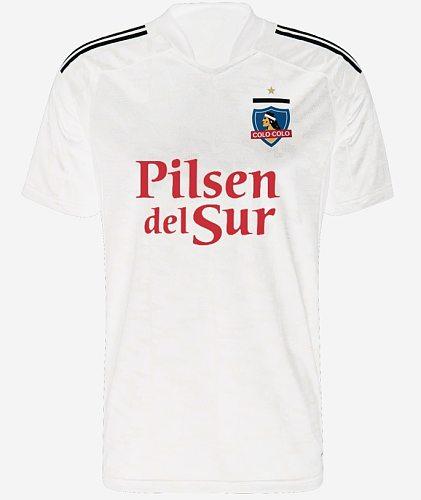 Adult Colo-Colo shirt chile colo colo shirt men's  Colo Colo Chile T Shirts