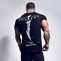 2020 New Summer gym T-shirt large-type brand T-shirt Man shirt Bodybuilding Fitness quick-drying Short Sleeve Running T-shirt