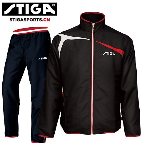 Genuine STIGA  Table tennis clothes for men and women clothing LONG sleeved ping pong Jersey sets
